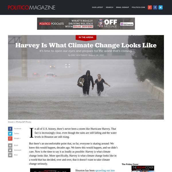 Harvey Is What Climate Change Looks Like