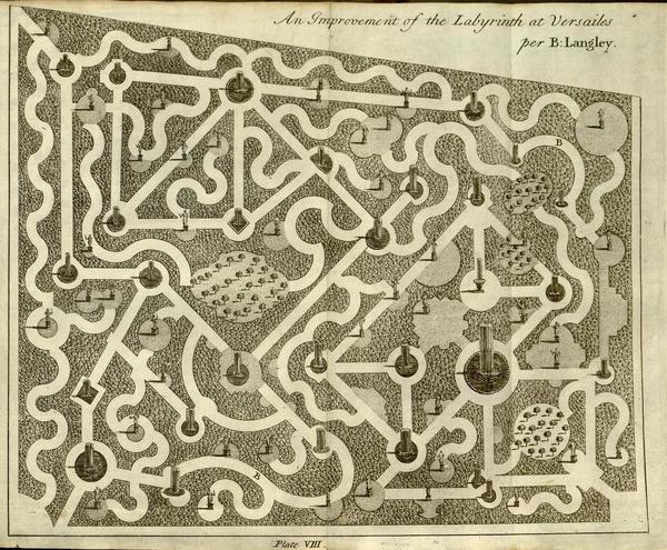 New Principles of Gardening by Batty Langley of Twickenham (1728)