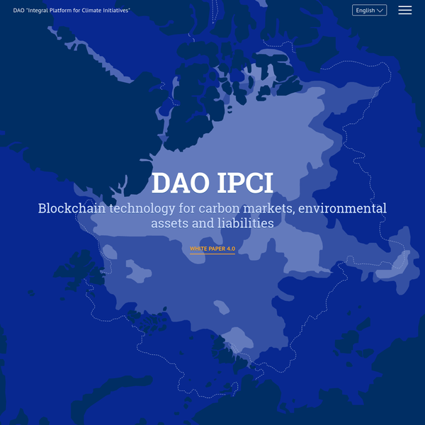 "DAO ""Integral Platform for Climate Initiatives"" - DAO ""Integral Platform for Climate Initiatives"""