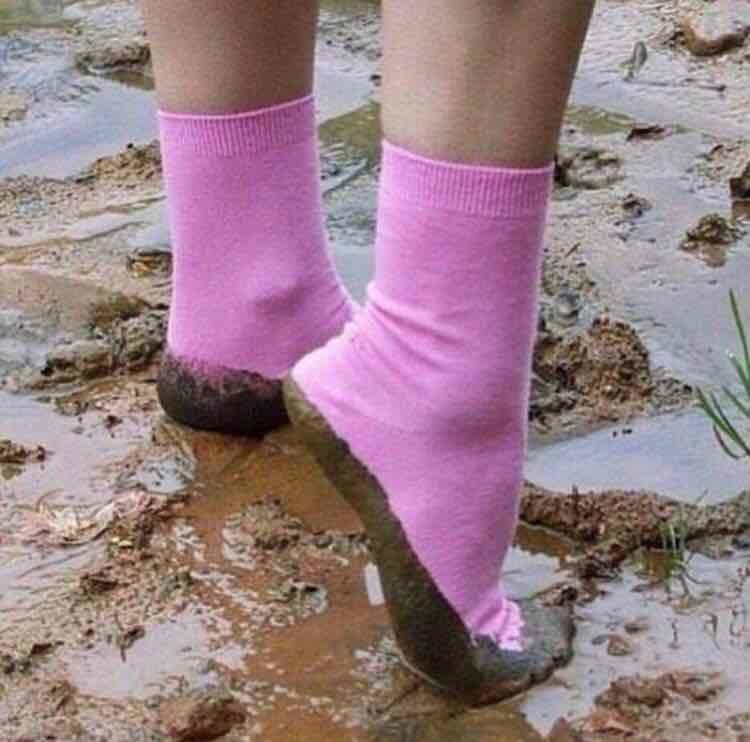 mud socks
