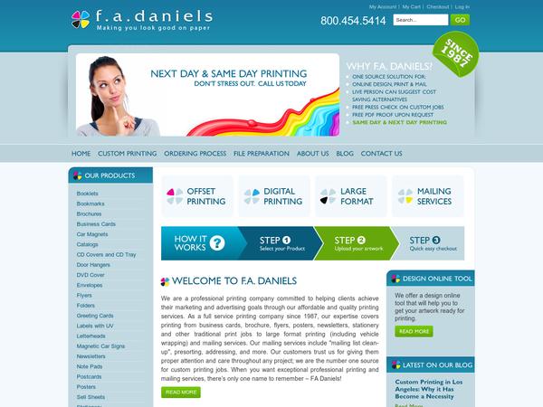 F.A. Daniels