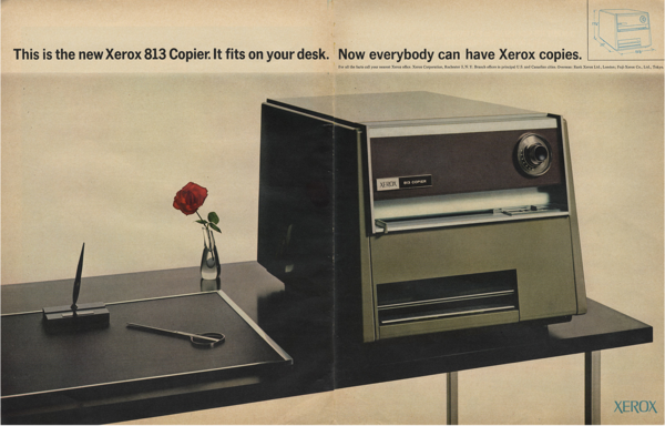 Xerox 813 Copier