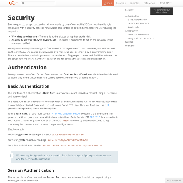 Are na / Token-based authentication on mobile and web