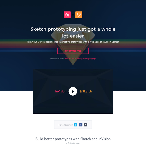 I just got a year of @InVisionApp's Starter plan free! Just for using @Sketchapp. Check it out: http://bit.ly/1EmiOL3