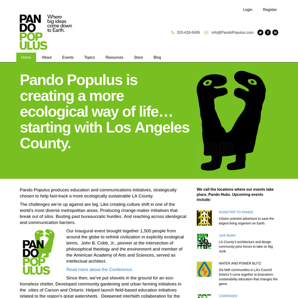 Pando Populus | We're all connected
