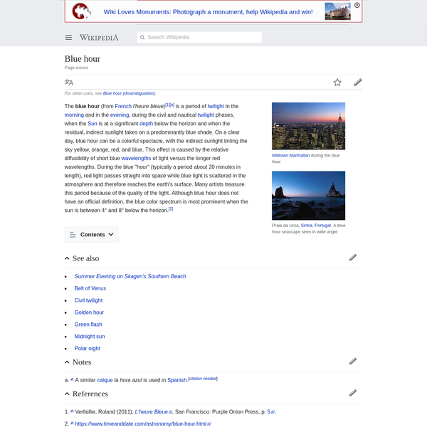 Blue hour - Wikipedia