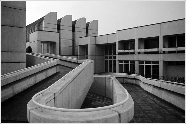 This is a building built in the Bauhaus style (Perhaps considered to be a subculture)