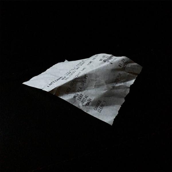 floating receipt