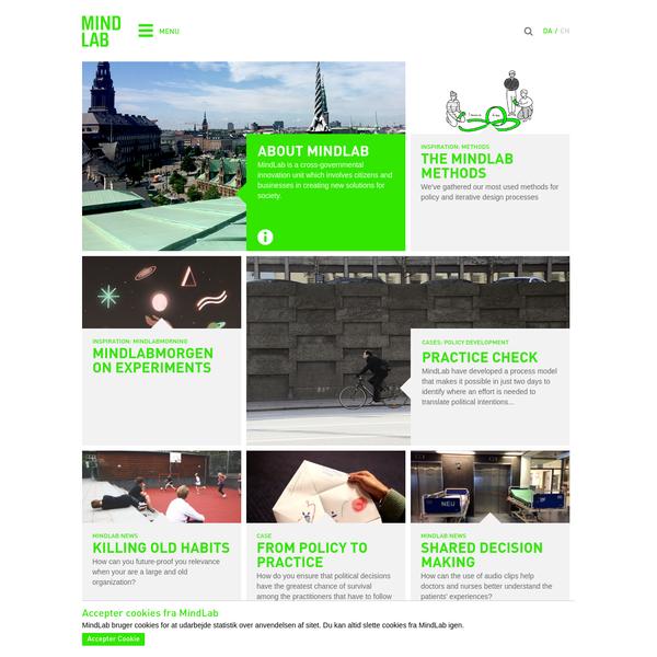 Frontpage - MindLab
