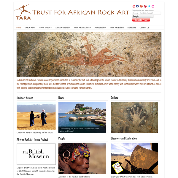 african rock art was and is Twyfelfontein is an 'open-air gallery' with the largest single concentration of rock art engravings in southern africa there are over 2000 rock engravings and a few rock paintings at twyfelfontein more than 200 giraffe and 100 rhino are shown as well as ostrich, impala, elephant and zebra.
