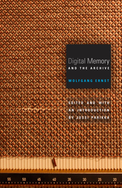 Digital Memory and the Archive, the first English-language collection of the German media theorist's work, brings together essays that present Wolfgang Ernst's controversial materialist approach to media theory and history. His insights are central to the emerging field of media archaeology, which uncovers the role of specific technologies and mechanisms, rather than content, in shaping contemporary culture and society.