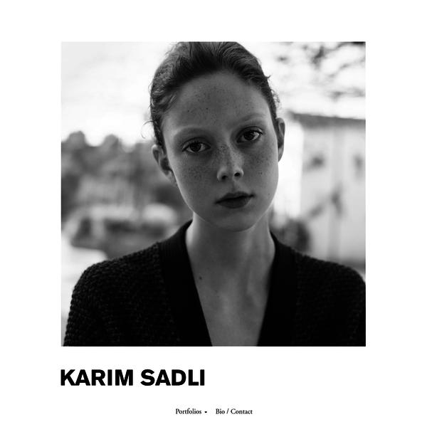 Art + Commerce - Artists - Photographers - Karim Sadli