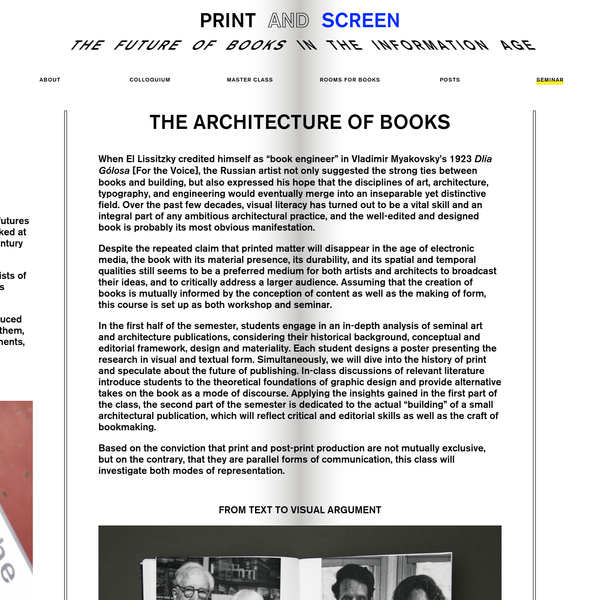 The Future of Books in the Information Age
