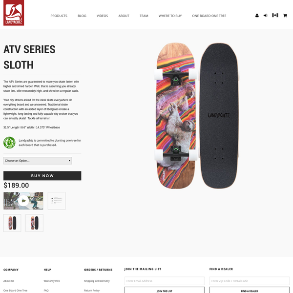 The ATV Series are guaranteed to make you skate faster, ollie higher and shred harder. Well, that is assuming you already skate fast, ollie reasonably high, and shred on a regular basis. Your city streets asked for the ideal skate everywhere do