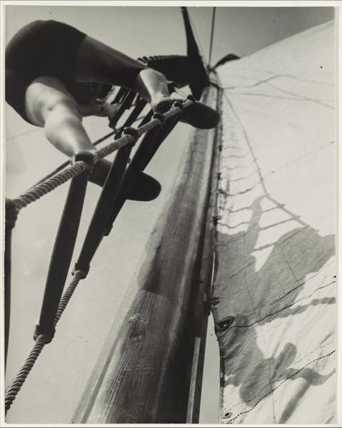 Sailing, 1928, by László Moholy-Nagy