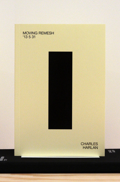 Publications, Charles Harlan, Moving Remesh '13 5 31