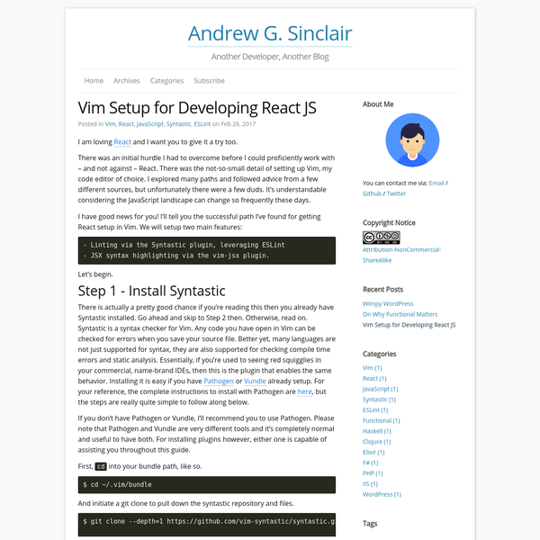I am loving React and I want you to give it a try too.There was an initial hurdle I had to overcome before I could proficiently work with - and not against -...