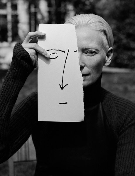 Tilda Swinton by Jack Davison