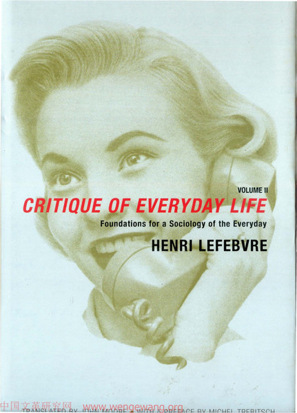 Lefebvre, Henri_Critique of Everyday Life: Foundations for a Sociology of the Everyday (1991)