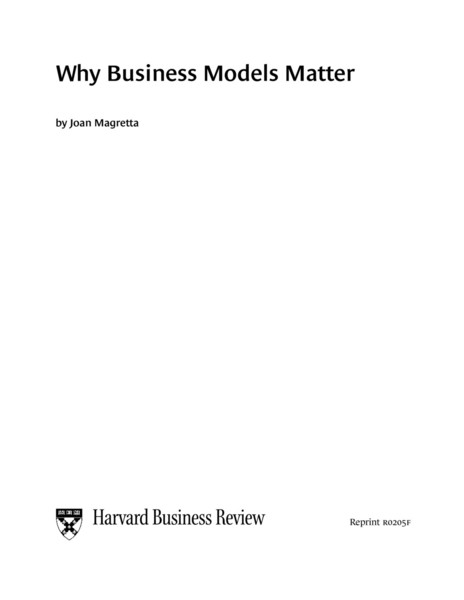 harvard business review porter model The harvard business review paperback series the series is designed to bring today's managers and professionals the fundamental information they.