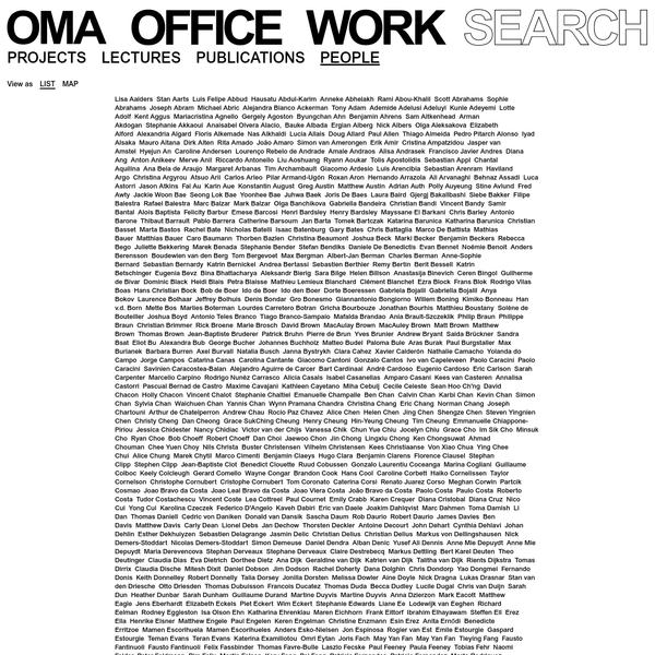 OMA People