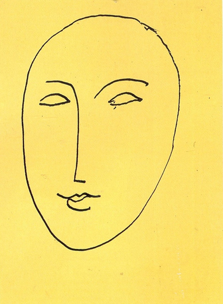 Face-Mask by Henri Matisse,1948