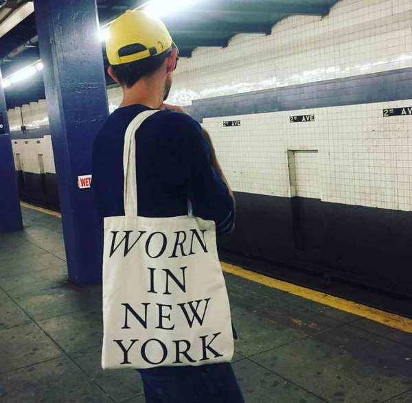 Worn In New York Tote