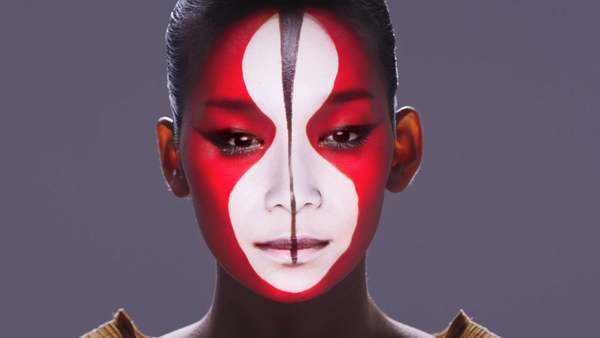 花鳥風月 (Kacho Fugetsu) / Real-Time Face Tracking & Projection Mapping