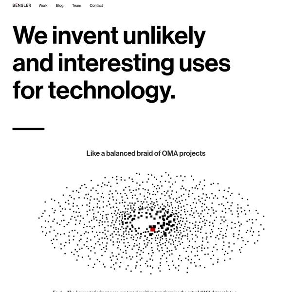 Bengler is a digital product design studio in Oslo.