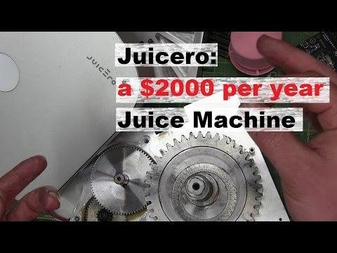 BOLTR: Juicero, Cold Press Juicer for Rich Weirdos