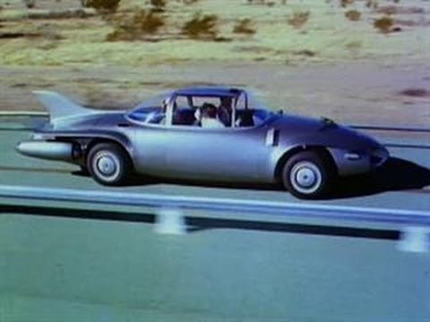 "For the 1956 Motorama auto show, General Motors produced this musical short, ""Key to the Future,"" which predicted self-driving cars in the far-off future of 1976."