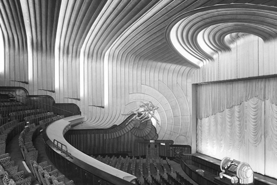 The Odeon Cinema, London, England, 1937