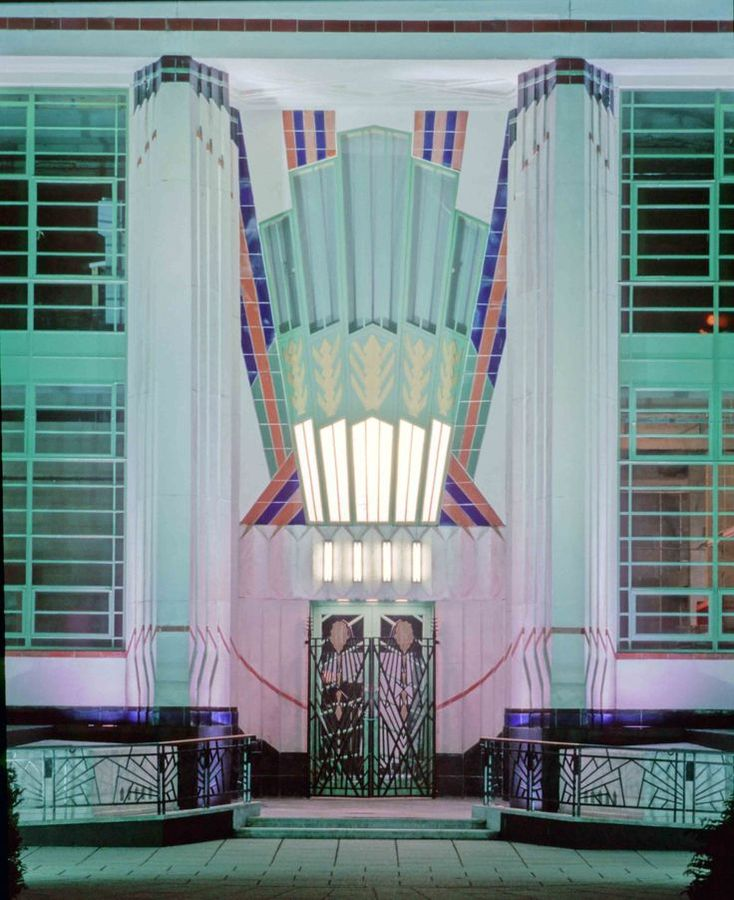 The Hoover Building, London, England, 1933
