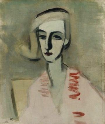 Helene Schjerfbeck, The Teacher (1933)