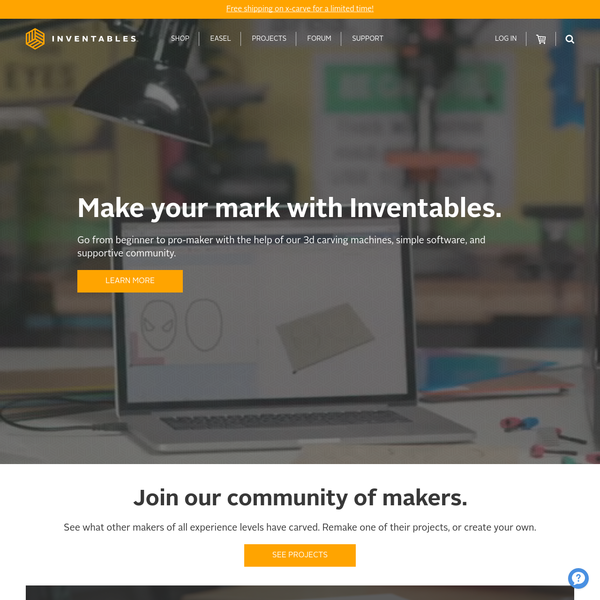 Inventables: the hardware store for designers. We help designers buy the products they need.