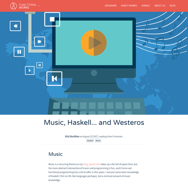 (haskell, music)