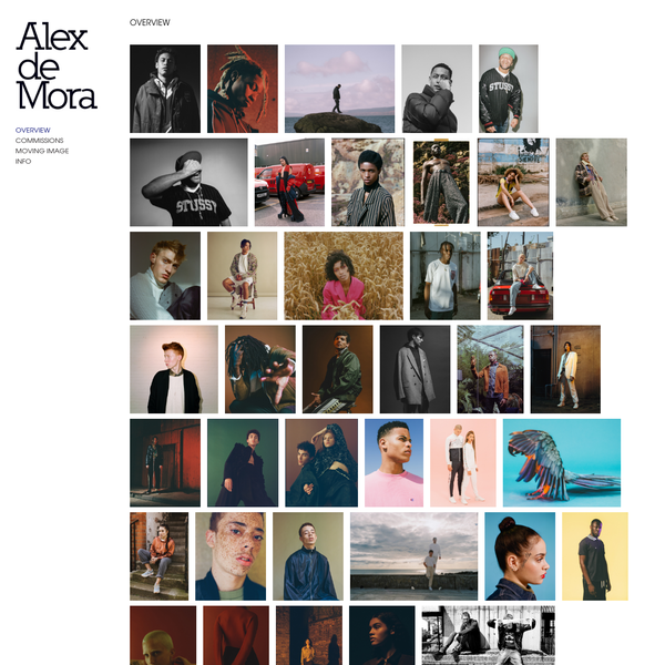 OVERVIEW - Alex de Mora
