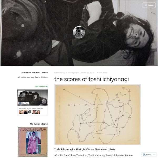 the scores of toshi ichiyanagi