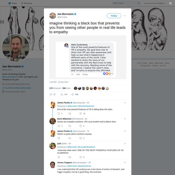 Joe Bernstein on Twitter
