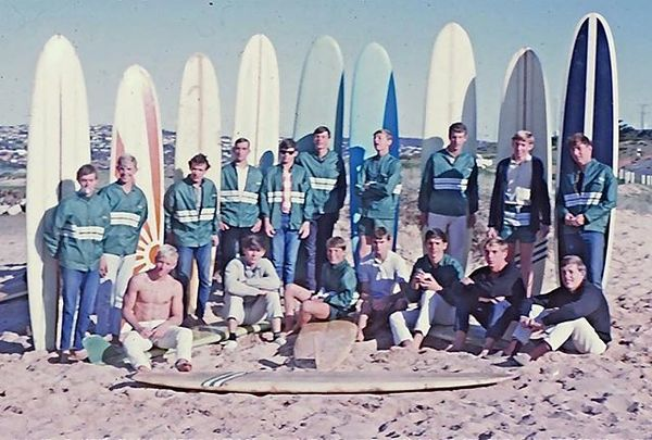 """448 Likes, 13 Comments - Matt Chojnacki (@thewaxhead) on Instagram: """"Long Reef Surfriders Association. Spring 1963... guys were stylin in their club jackets"""""""