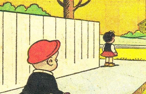 Nancy & Sluggo: Stalking