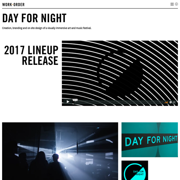 Day for Night art and music festival