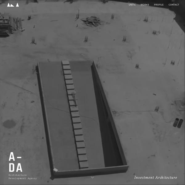 Architecture Development Agency - A-DA