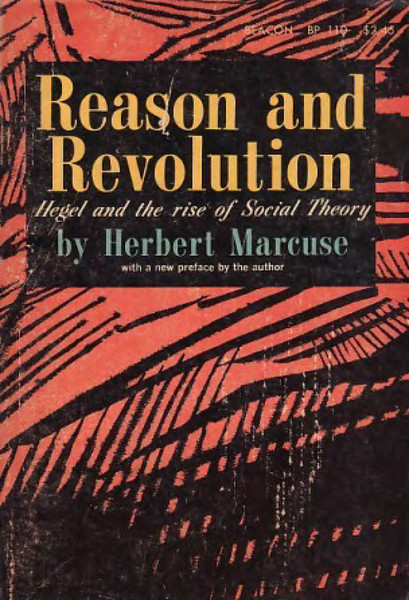 Marcuse, Herbert_Reason and Revolution (1955)