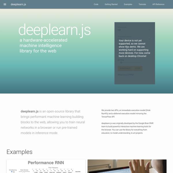deeplearn.js
