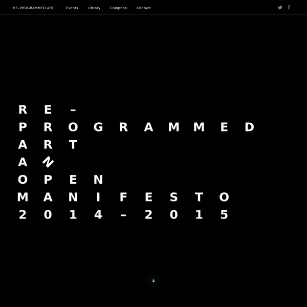 A group of artists and designers from both Italy and Switzerland are involved in a process of open source re-programming of artworks by Gruppo T.
