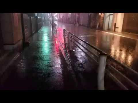 A Rainy Night In Tokyo [Walk-Cam]