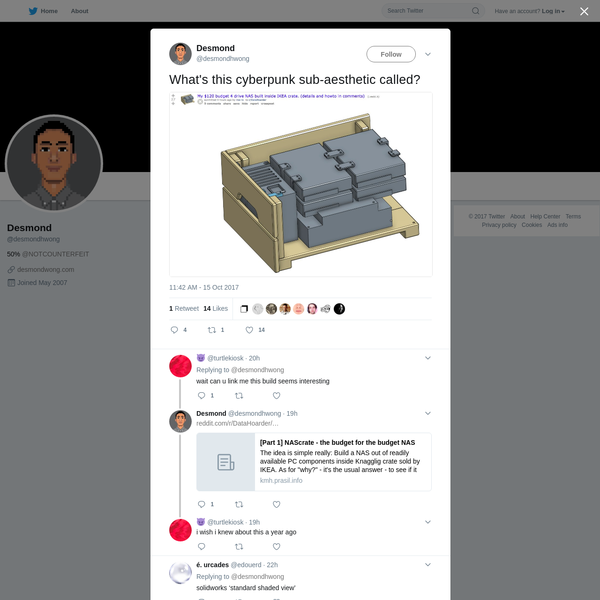 Desmond on Twitter