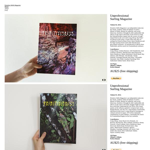 Primitive Skills Magazine