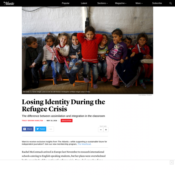 Rachel McCormack arrived in Europe last November to research international schools catering to English-speaking students, but her plans were overwhelmed by the magnitude of the continent's refugee crisis. Now, she's spearheading a campaign to deliver Arabic-language books to refugee shelters in the Netherlands.